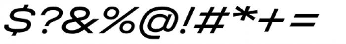 Halvar Breitschrift Regular SuperSlanted Font OTHER CHARS