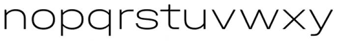Halvar Breitschrift Thin Font LOWERCASE
