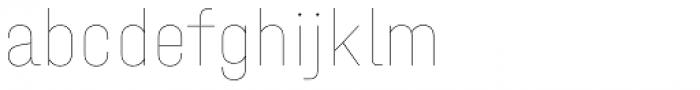 Halvar Engschrift Hairline Font LOWERCASE