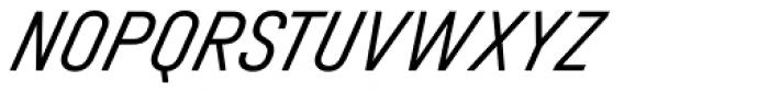 Halvar Engschrift Light SuperSlanted Font UPPERCASE