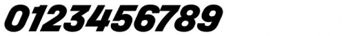 Halvar Mittelschrift Black SuperSlanted Font OTHER CHARS