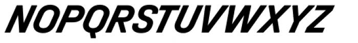 Halvar Mittelschrift Bold SuperSlanted Font UPPERCASE