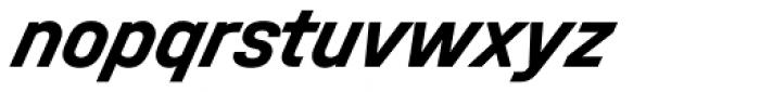 Halvar Mittelschrift Bold SuperSlanted Font LOWERCASE