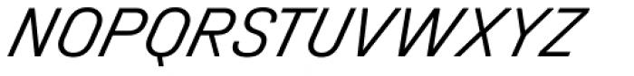 Halvar Mittelschrift Light SuperSlanted Font UPPERCASE