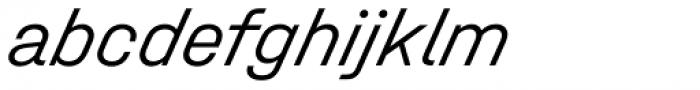 Halvar Mittelschrift Light SuperSlanted Font LOWERCASE