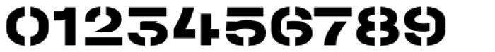 Halvar Stencil Breitschrift ExtraBold MaxGap Font OTHER CHARS