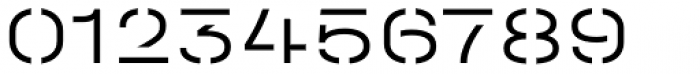 Halvar Stencil Breitschrift Light MaxGap Font OTHER CHARS