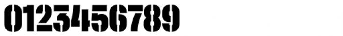 Halvar Stencil Engschrift Black MaxGap Font OTHER CHARS