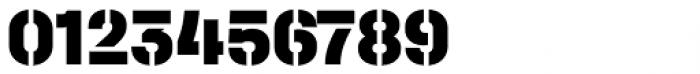 Halvar Stencil Mittelschrift Black MaxGap Font OTHER CHARS