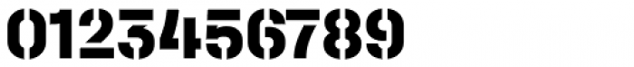 Halvar Stencil Mittelschrift ExtraBold MaxGap Font OTHER CHARS