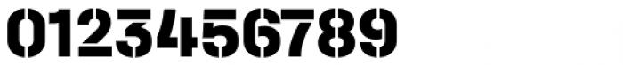 Halvar Stencil Mittelschrift ExtraBold MidGap Font OTHER CHARS