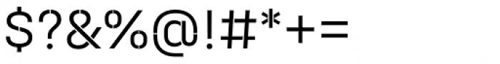 Halvar Stencil Mittelschrift Light MinGap Font OTHER CHARS