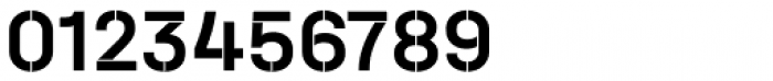 Halvar Stencil Mittelschrift Medium MinGap Font OTHER CHARS