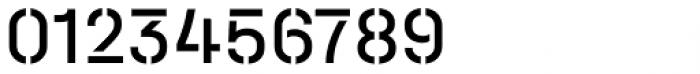 Halvar Stencil Mittelschrift Regular MidGap Font OTHER CHARS