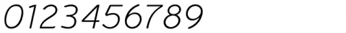 Halvorsen Pro Light Italic Font OTHER CHARS