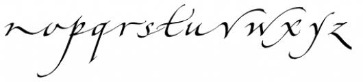 Hamada Pro Roman Font LOWERCASE