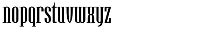 Hamerslag Demi Bold Font LOWERCASE