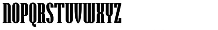 Hamerslag Heavy Font UPPERCASE