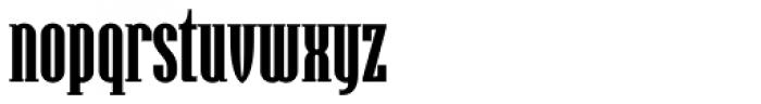 Hamerslag Heavy Font LOWERCASE