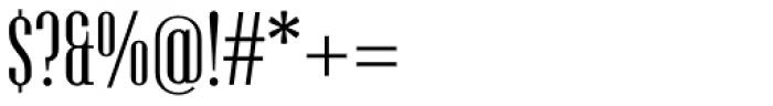Hamerslag Regular Font OTHER CHARS