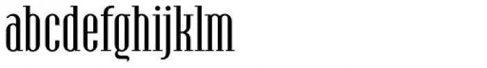 Hamerslag Regular Font LOWERCASE