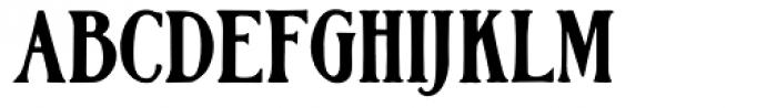Hamilton Font UPPERCASE