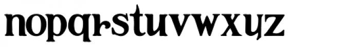 Hamilton Font LOWERCASE