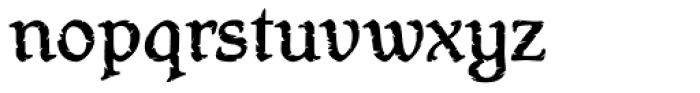 Hamlet Headstone Font LOWERCASE