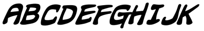 Hammer Horror Bold Italic Font LOWERCASE