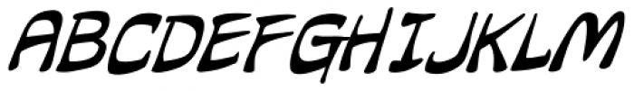 Hammer Horror Italic Font UPPERCASE