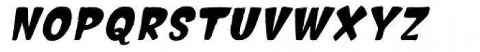 Hammerhead Bold Oblique Font UPPERCASE