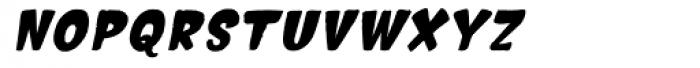Hammerhead Bold Oblique Font LOWERCASE