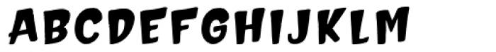 Hammerhead Edge Bold Font UPPERCASE