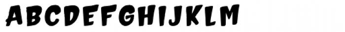 Hammerhead Edge Bold Font LOWERCASE