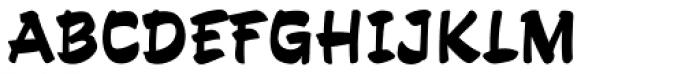 Hand Drawn Std Font LOWERCASE