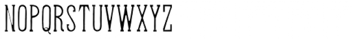 Hand Shop Typography A24 Font UPPERCASE