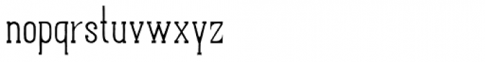 Hand Shop Typography A24 Font LOWERCASE