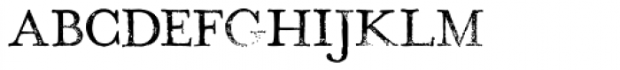 Hand Stamp Play Rough Serif Bold Font LOWERCASE