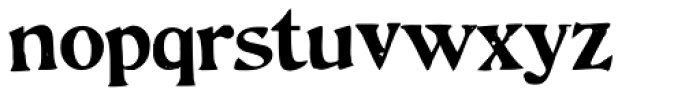 Hand Stamped JNL Font LOWERCASE