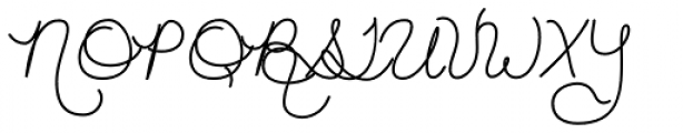 Hand of Joy Fluffy Font UPPERCASE