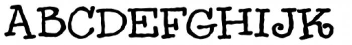 Handbag Jack Font UPPERCASE