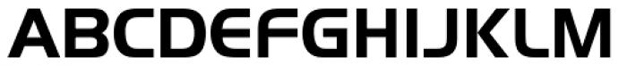 Handel Sans EF Bold Font UPPERCASE