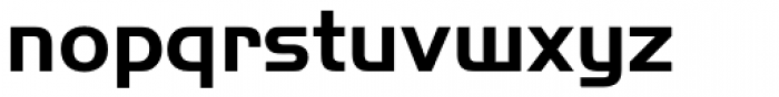 Handel Sans EF Bold Font LOWERCASE