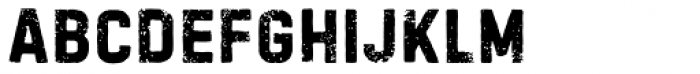 Handelson Six Font LOWERCASE