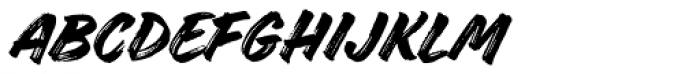 Handelson Two Font UPPERCASE
