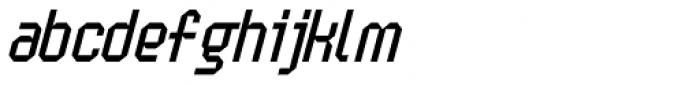 Handheld Italic Font LOWERCASE