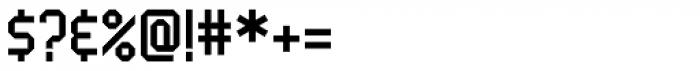 Handheld Regular Font OTHER CHARS