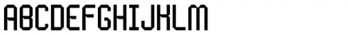 Handheld Regular Font UPPERCASE