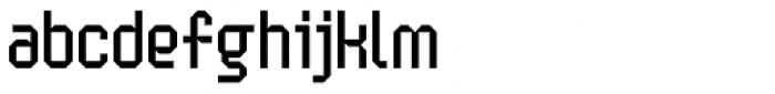 Handheld Regular Font LOWERCASE