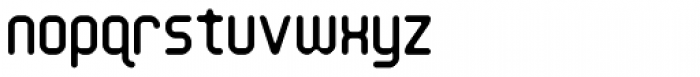 Handheld Round Font LOWERCASE